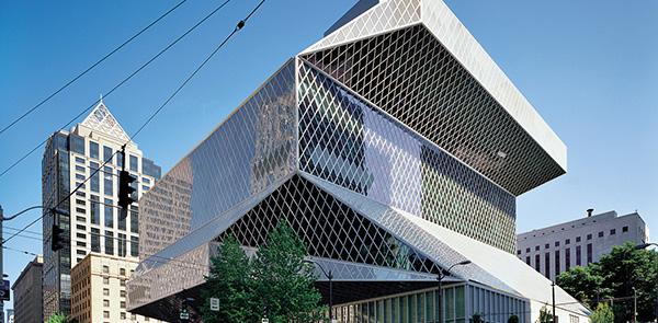Rem Koolhaas in Seattle