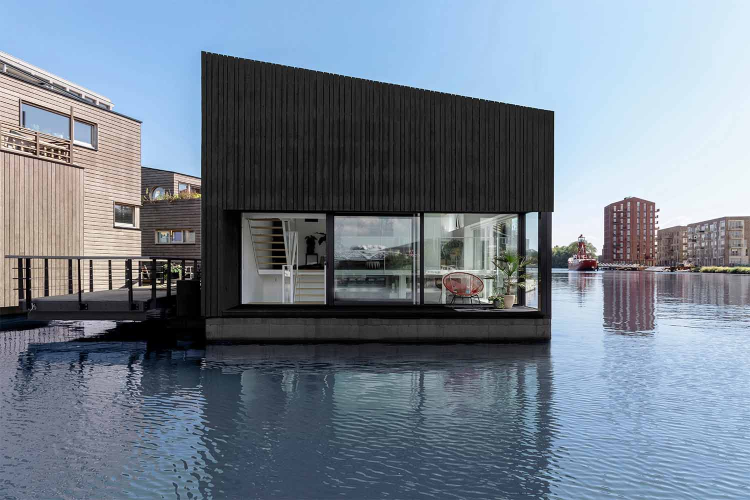 Sustainable living in a floating village