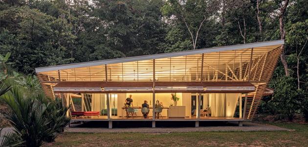 "Prototipo residenziale ""No Footprint House"""