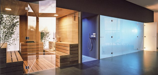 Designing the contemporary spa