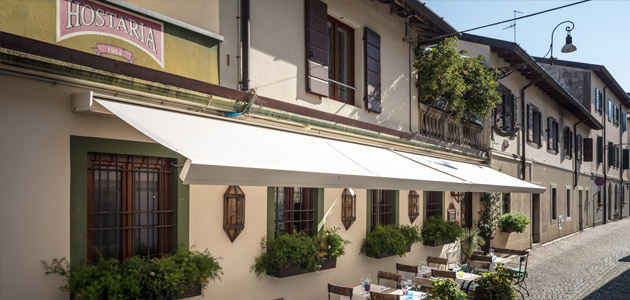 Restaurant awnings: Solutions by Pratic | THE PLAN