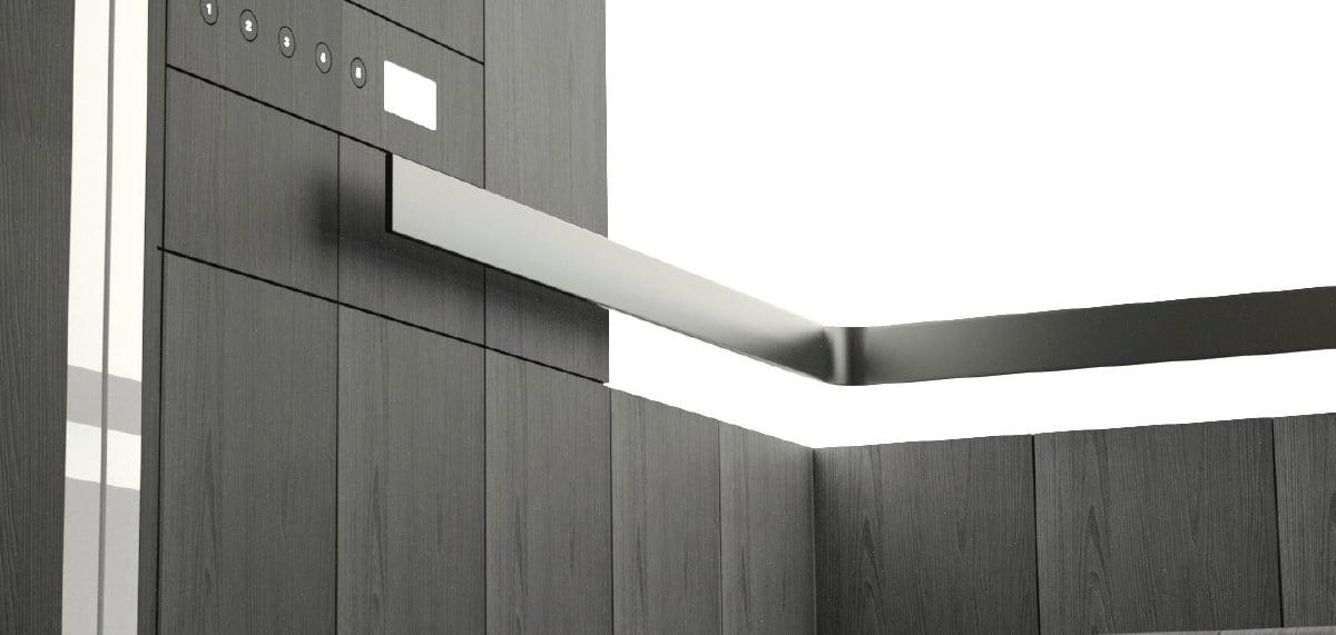 Il design dell'ascensore