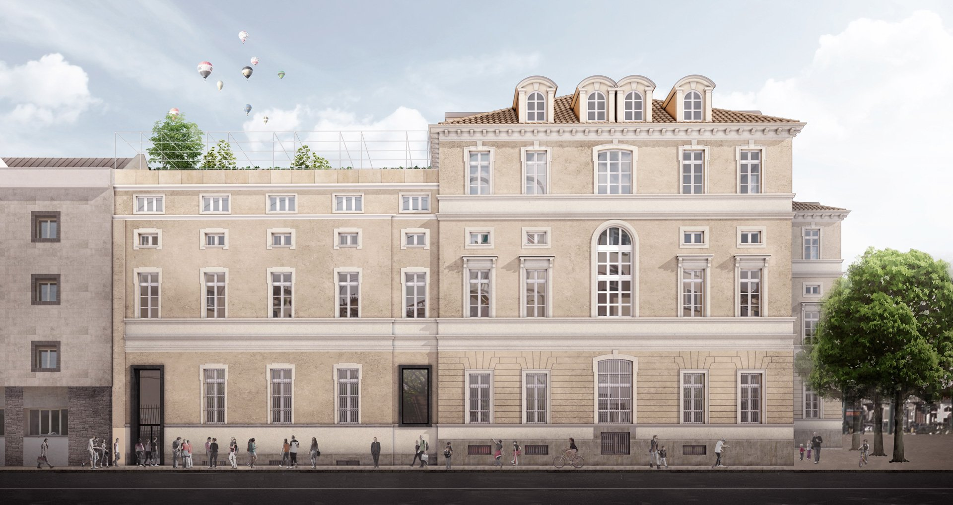 New Pascoli School, redevelopment of a historical building in Turin