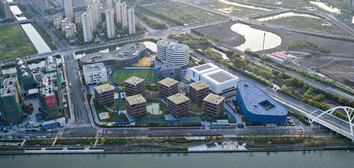 Campus della scuola internazionale Qingpu Pinghe