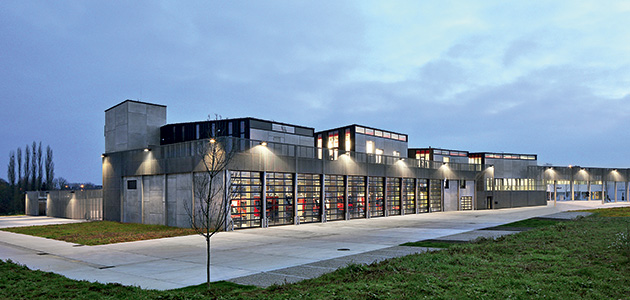 Architecture As Infrastructure   Fire Station