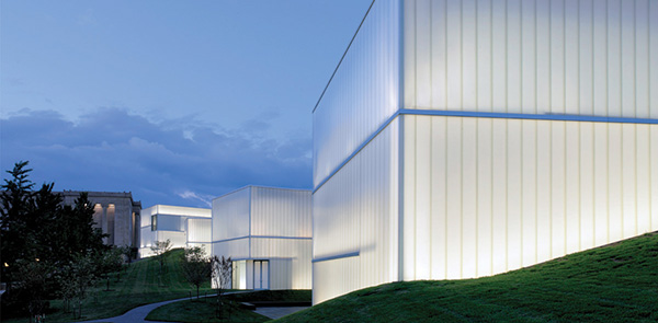 Steven Holl in Kansas City, Usa
