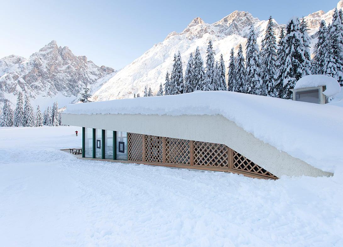 Bistro Bergsteiger, un hotspot turistico mimetico