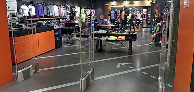 Nike Store Barcelona and Madrid, Spain