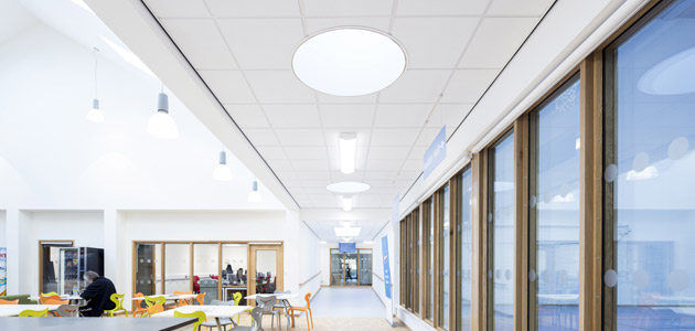 Armstrong false ceilings for education spaces | The Plan