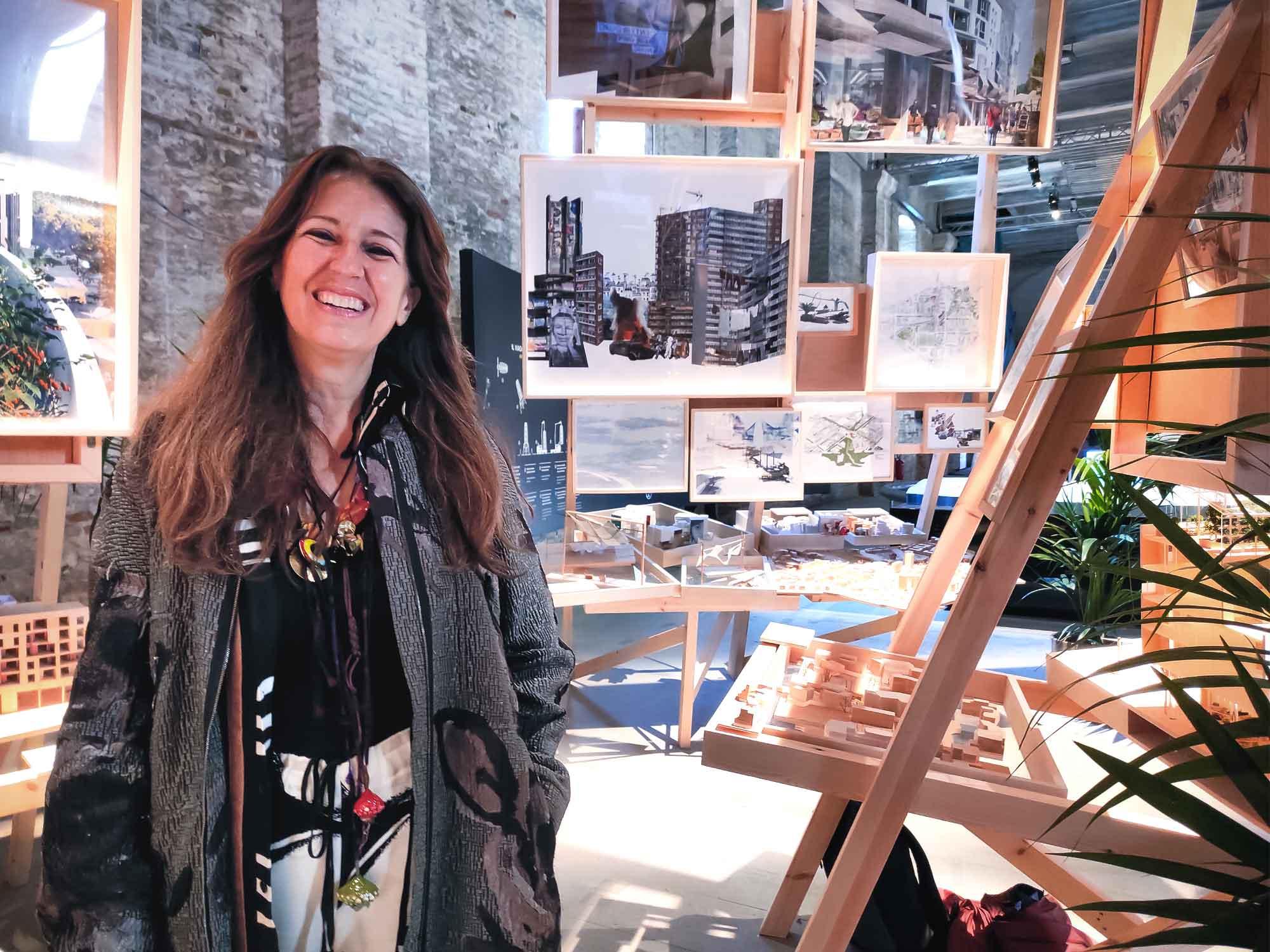 Benedetta Tagliabue alla Biennale, un affascinante incontro