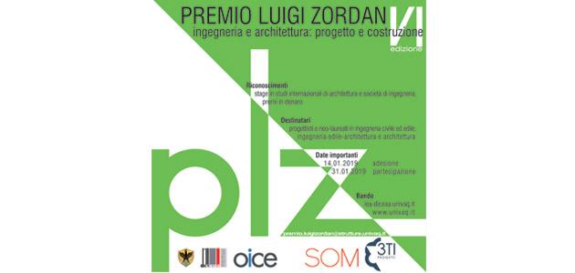 Sesta Edizione Premio Luigi Zordan | THE PLAN