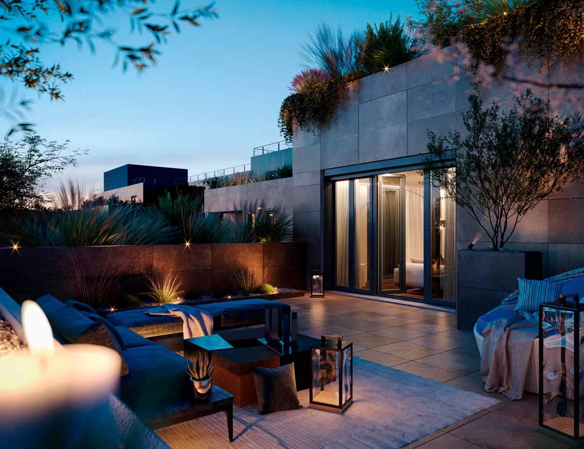 Abitare una casa con i comfort di un hotel sostenibile