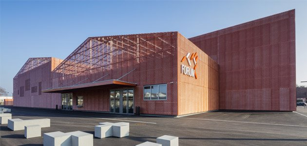 LE FORUM sports, associative & events facility in SAINT-LOUIS- France