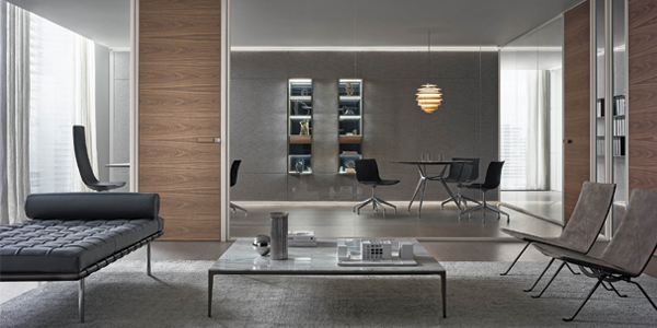 Spazio wall partition system | The Plan