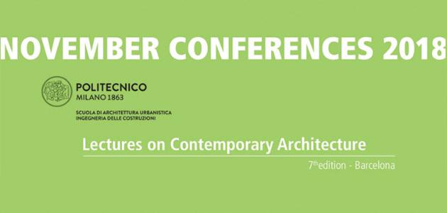 Ultimo appuntamento 2018 Conferenze di Novembre - Polimi