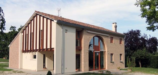 Bruno Stocco Architetto: Casa a Santa Giustina in Colle