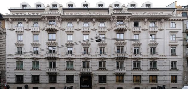 Il Prisma recupera palazzo Carducci 14 | THE PLAN