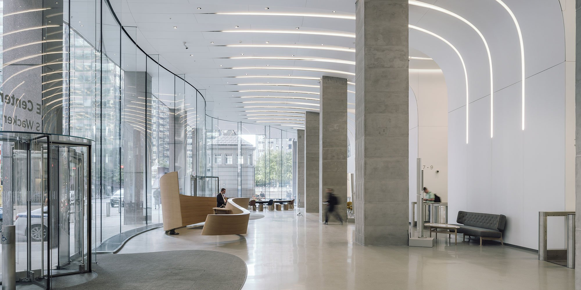 Chicago Mercantile Exchange (CME) Center, una rinnovata hall in Krion®