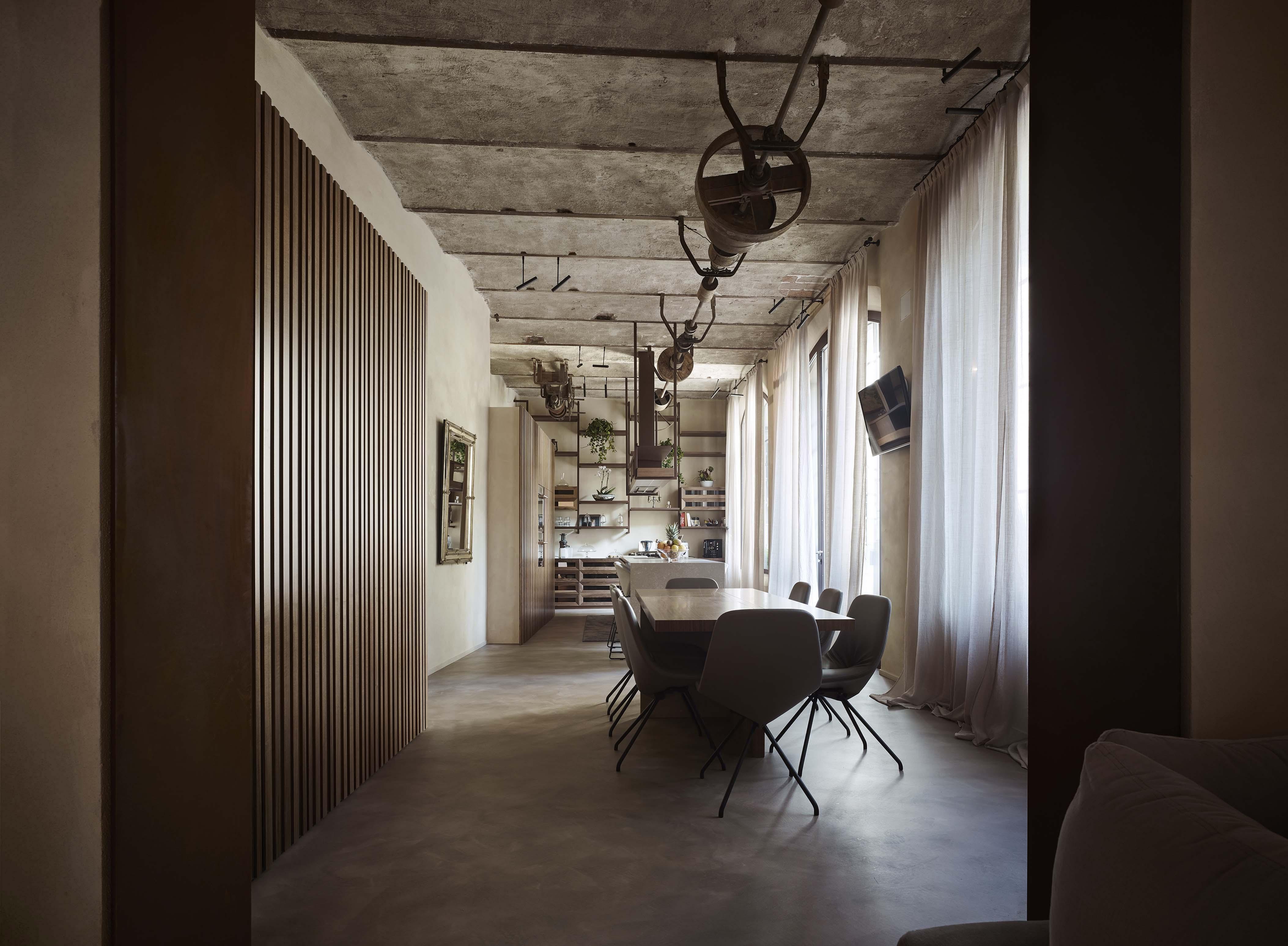 Casa Gottardi, un'abitazione privata dal raffinato stile industriale