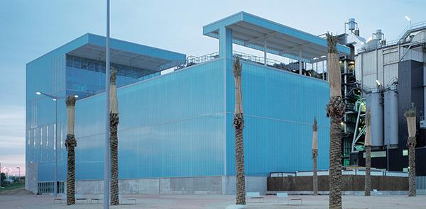 Edificio per uffici e parco urbano