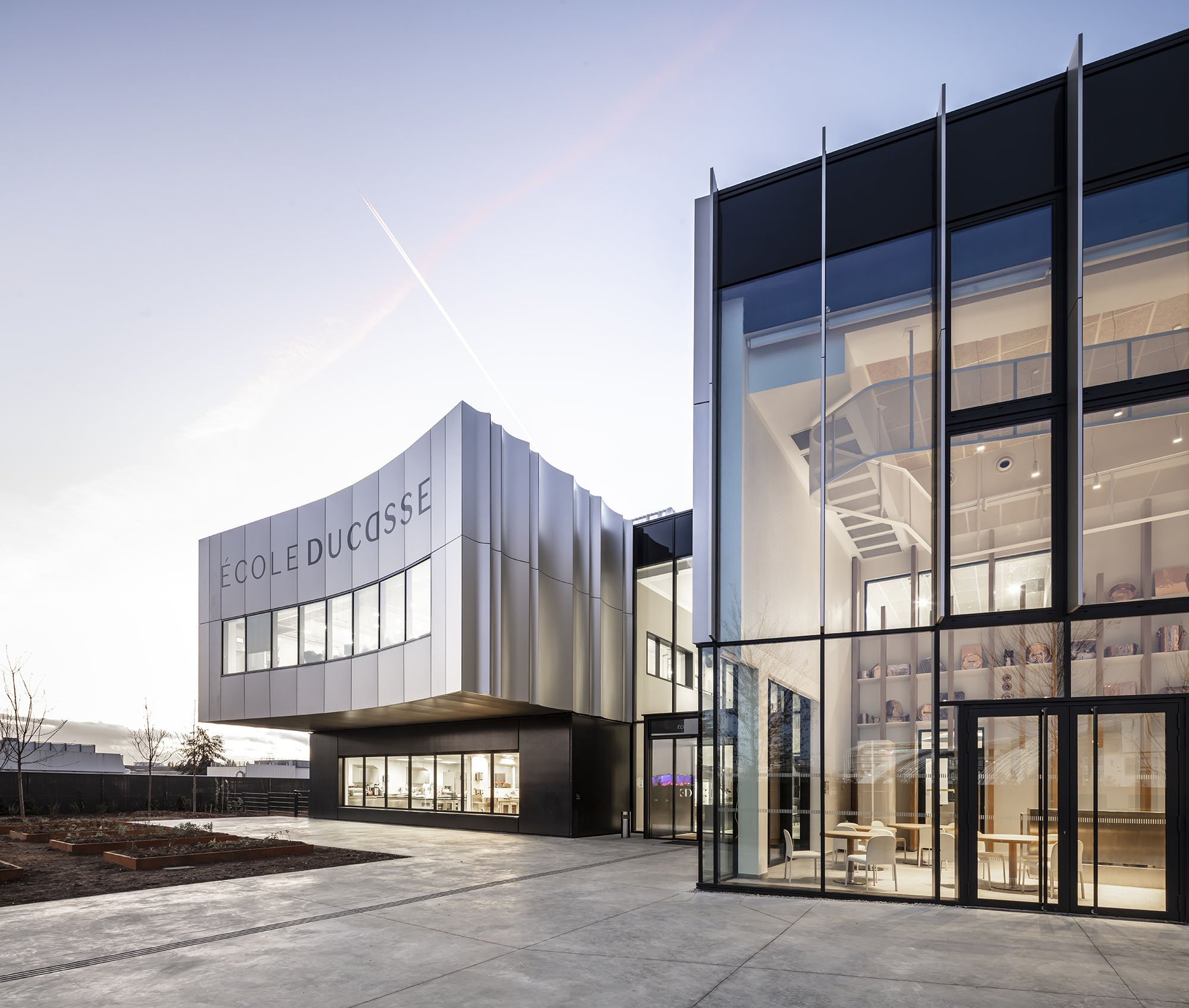 École Ducasse: architecture inspired by the culinary arts