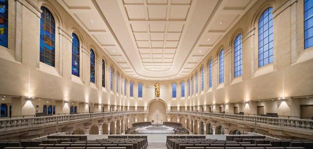 Sacred Heart Basilica Lighting a place of worship