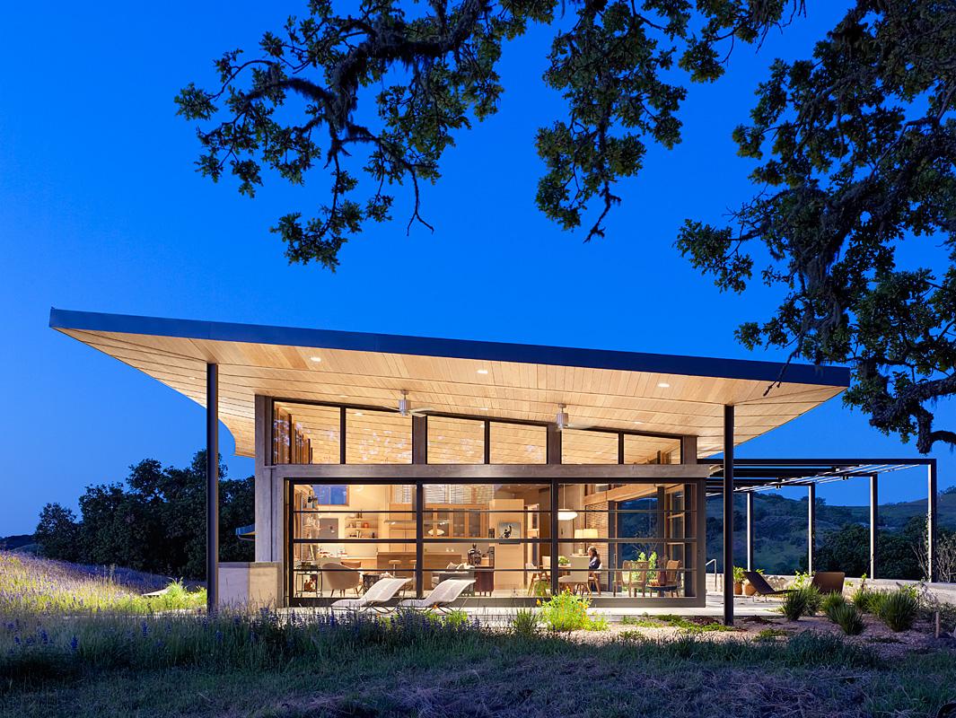 Netflix architettura, Caterpillar House film Malcolm & Marie
