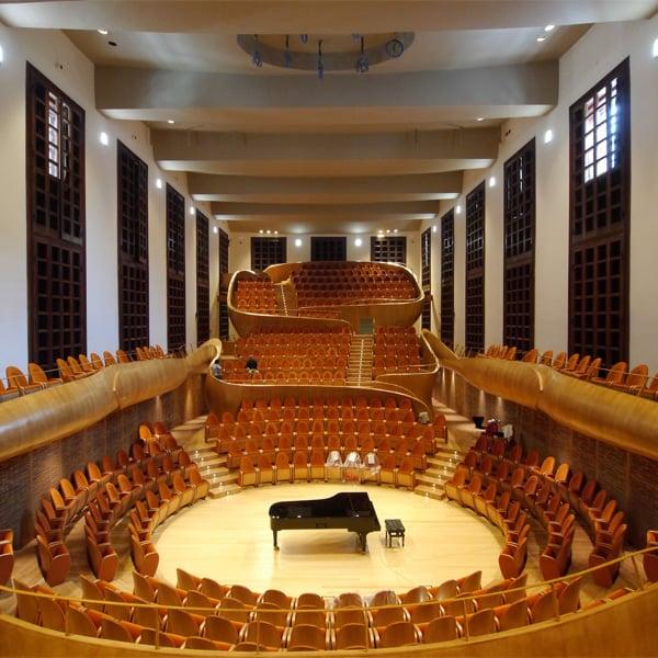 Museo Del Violino.Arkpabi Museo Del Violino E Auditorium Giovanni Arvedi