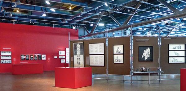 Progettare una mostra al Centre Pompidou