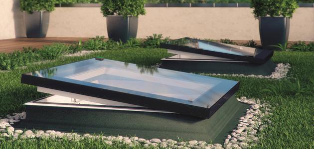 Finestra per tetti piatti modello F
