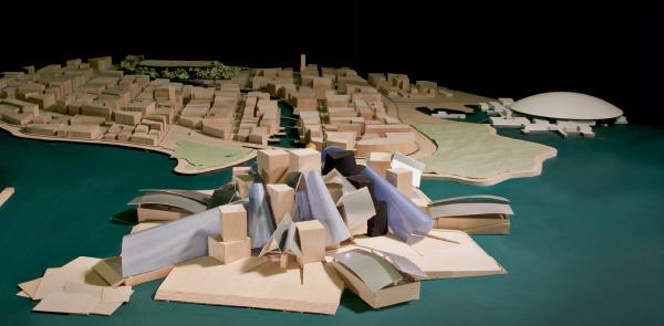 La costante crescita  del processo creativo  di Gehry Partners