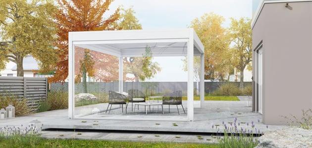 GENNIUS Isola2, la nuova tenda a pergola di KE Protezioni Solari