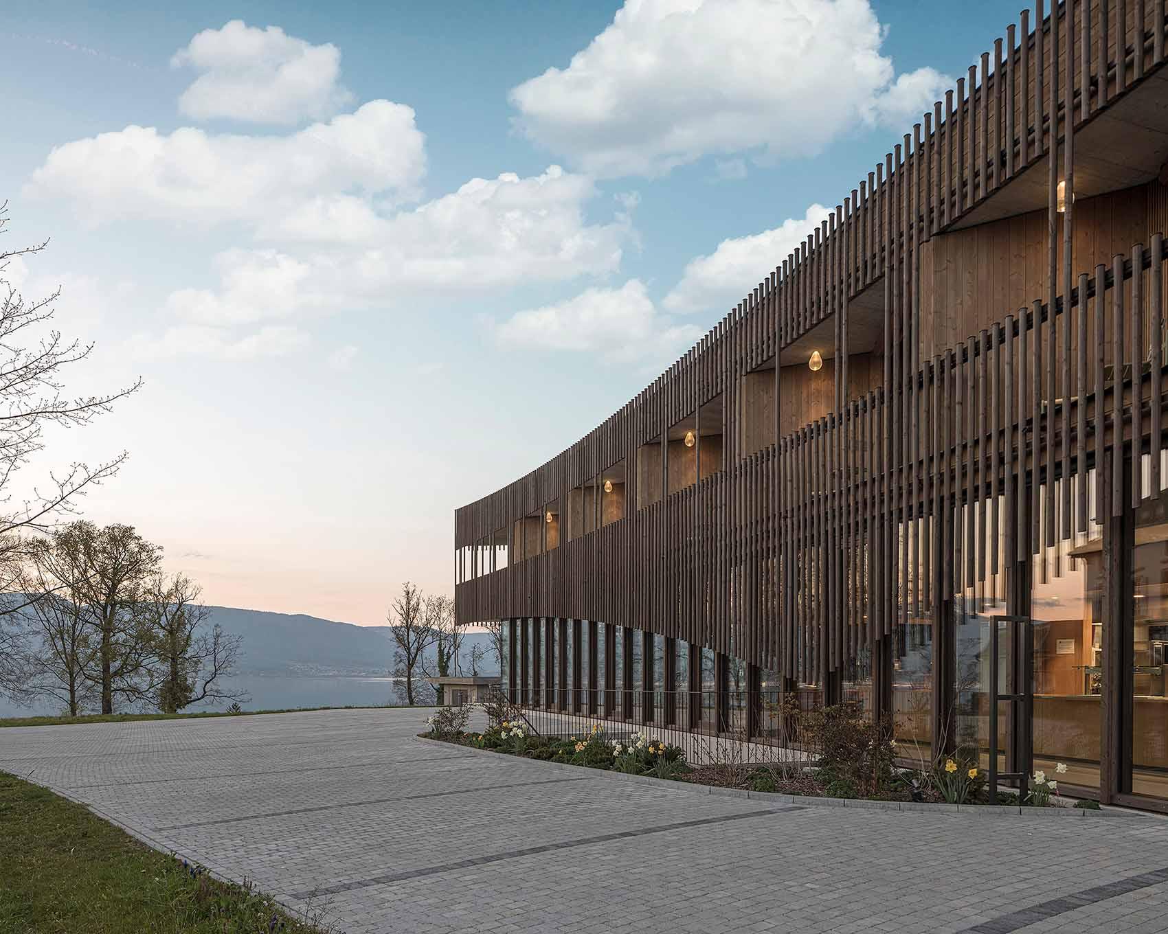 La Corbière, new natural terapeutic center in Estavayer-le-Lac