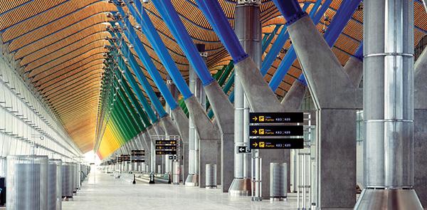 Nuovo Terminal T4 Aeroporto di Barajas