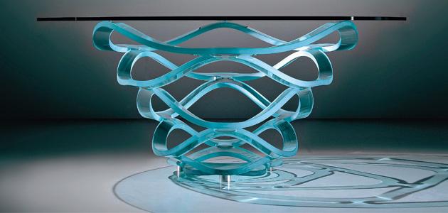 Le applicazioni del vetro per l'interior design
