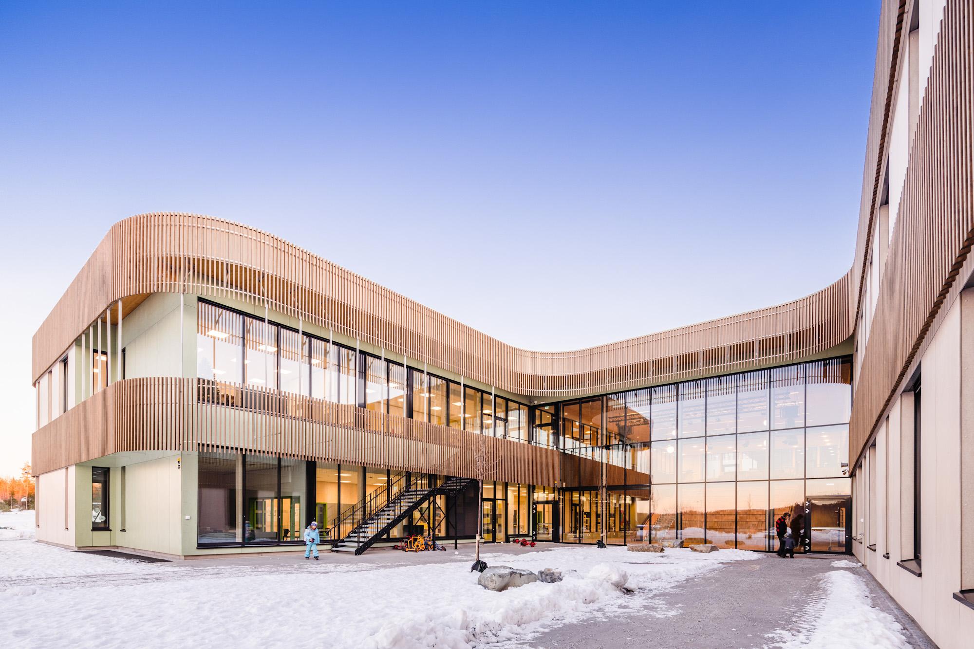 Torvbraten primary school in Norway, receives Nordic Swan Eco-label