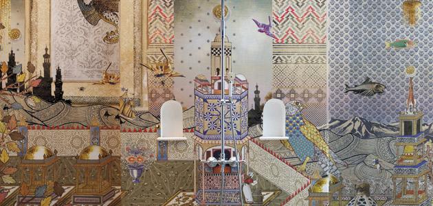 Wanderlust - Mondrian Doha di LondonArt   THE PLAN