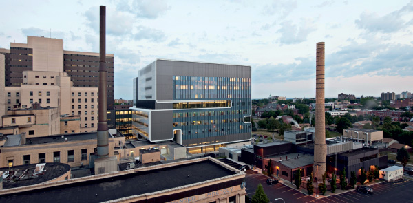 Per stimolare l'interazione nella ricerca medica Mehrdad Yazdani riunisce tre strutture in upstate New York