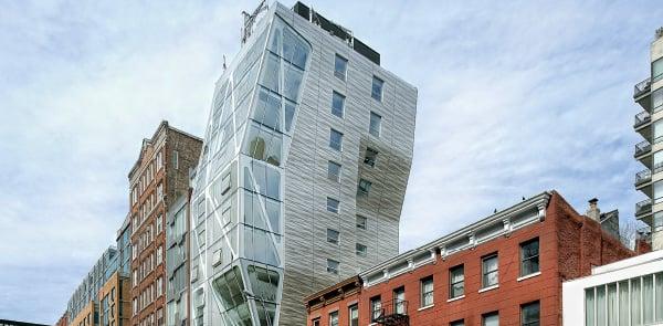 A Habitable Sculpture in Lower Manhattan