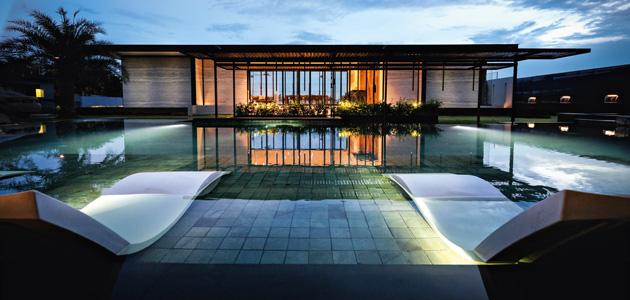Residenza privata Ponderosa pavilion Eleganza tropicale