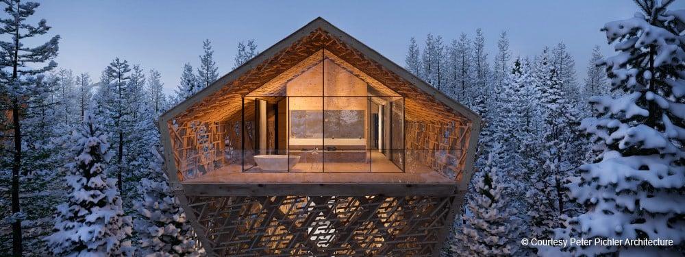 Le costruzioni in legno nell'architettura contemporanea