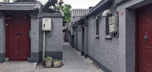 Split Courtyard House