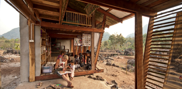 Architecture Aid  Library for the Safe Haven Orphanage