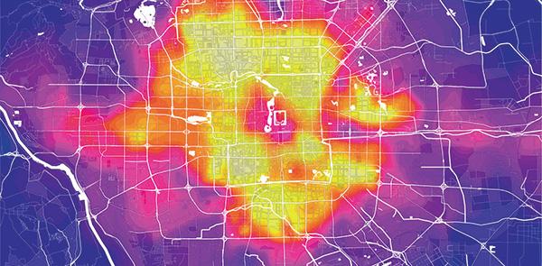 Beijing Mapping - Una forma di città quasi perfettà intorno alla storia