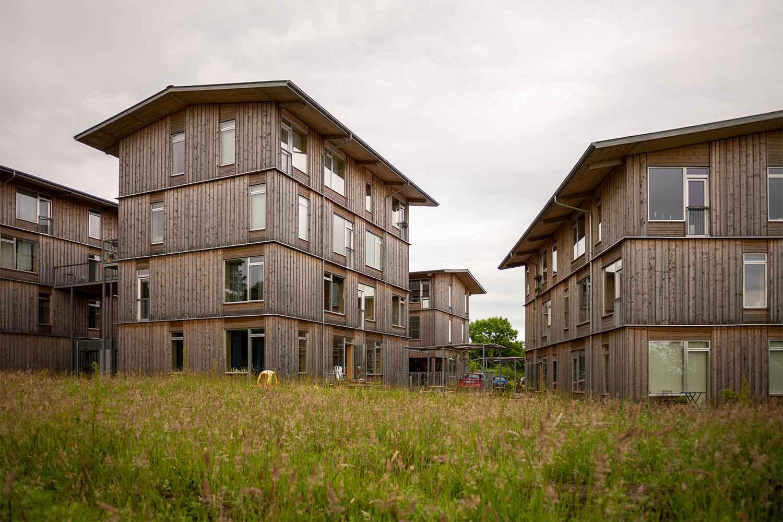 Lisbjerg Bakke: hybrid construction timber villages of the future
