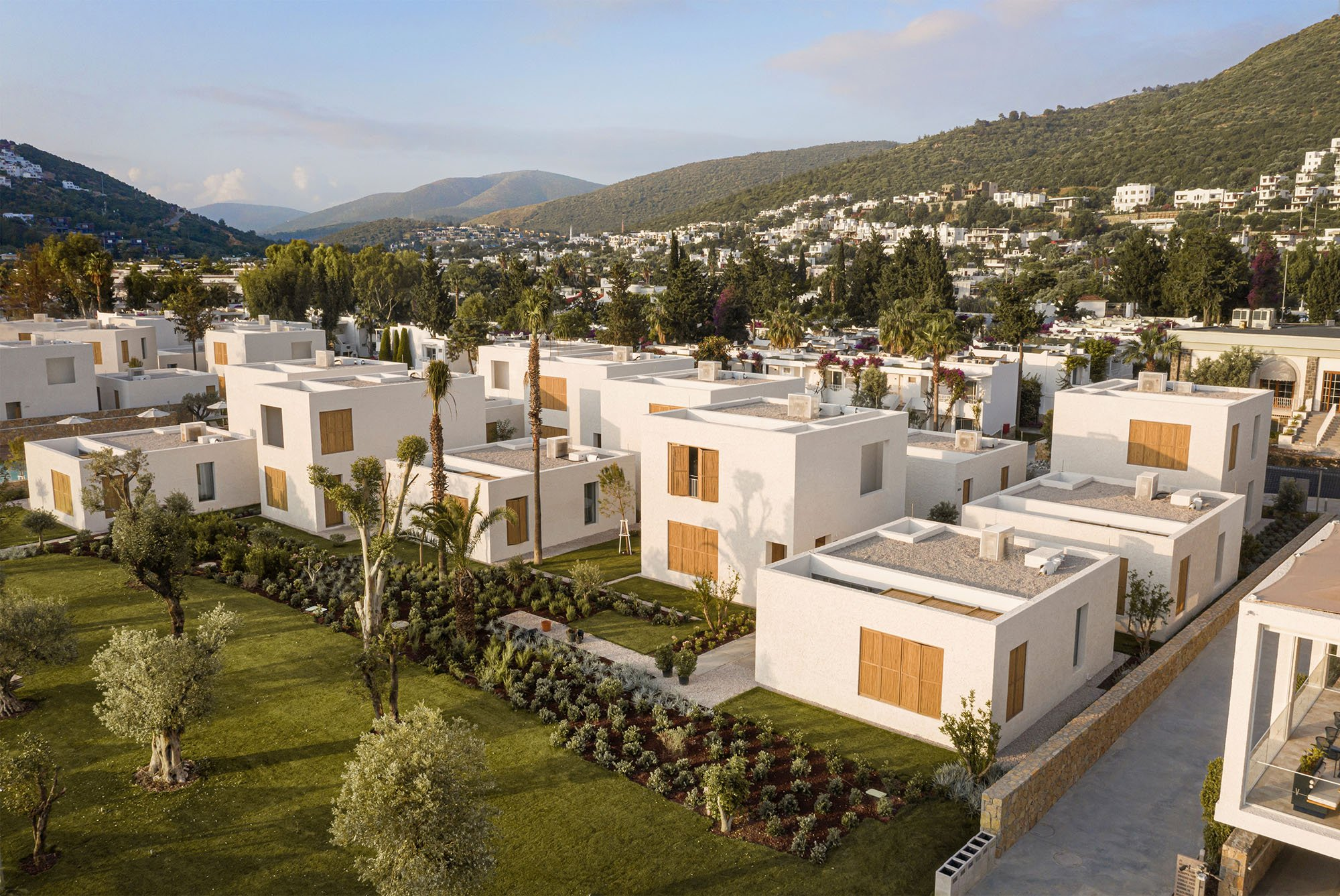 Voyage Torba, a scattered hotel on the Aegean Sea