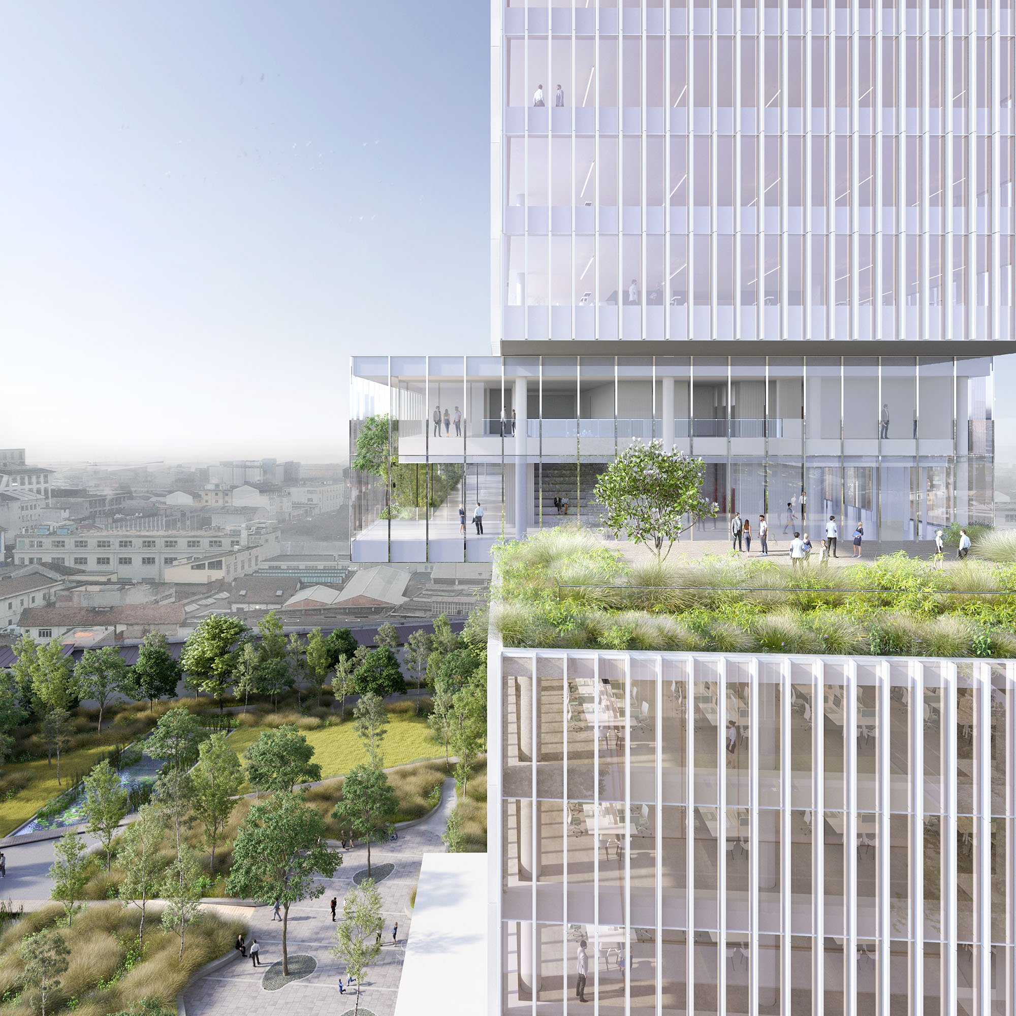 Snam's new Milan headquarters: environmental and innovative