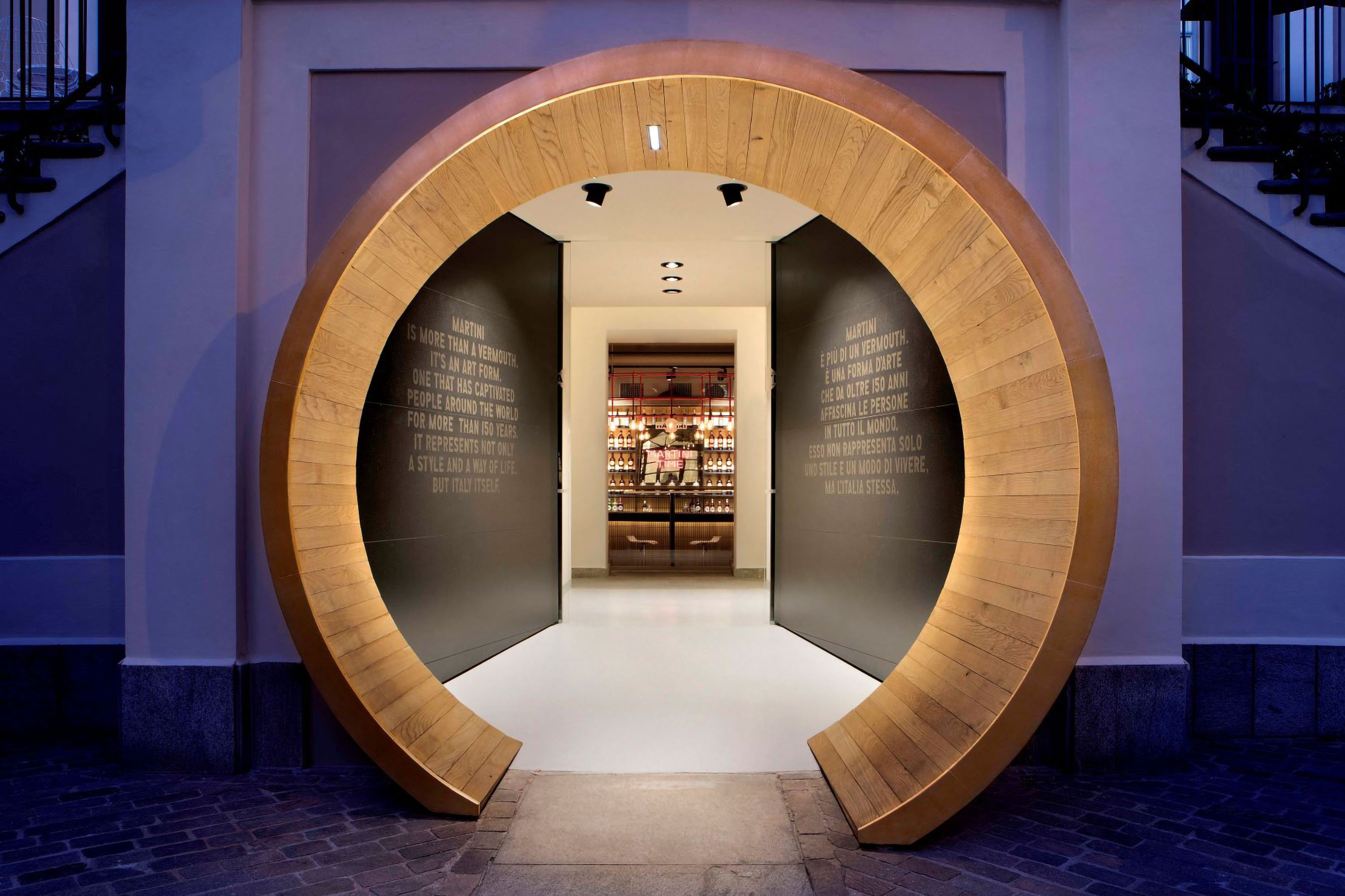 The restyling of Casa MARTINI: a modern, interactive museum