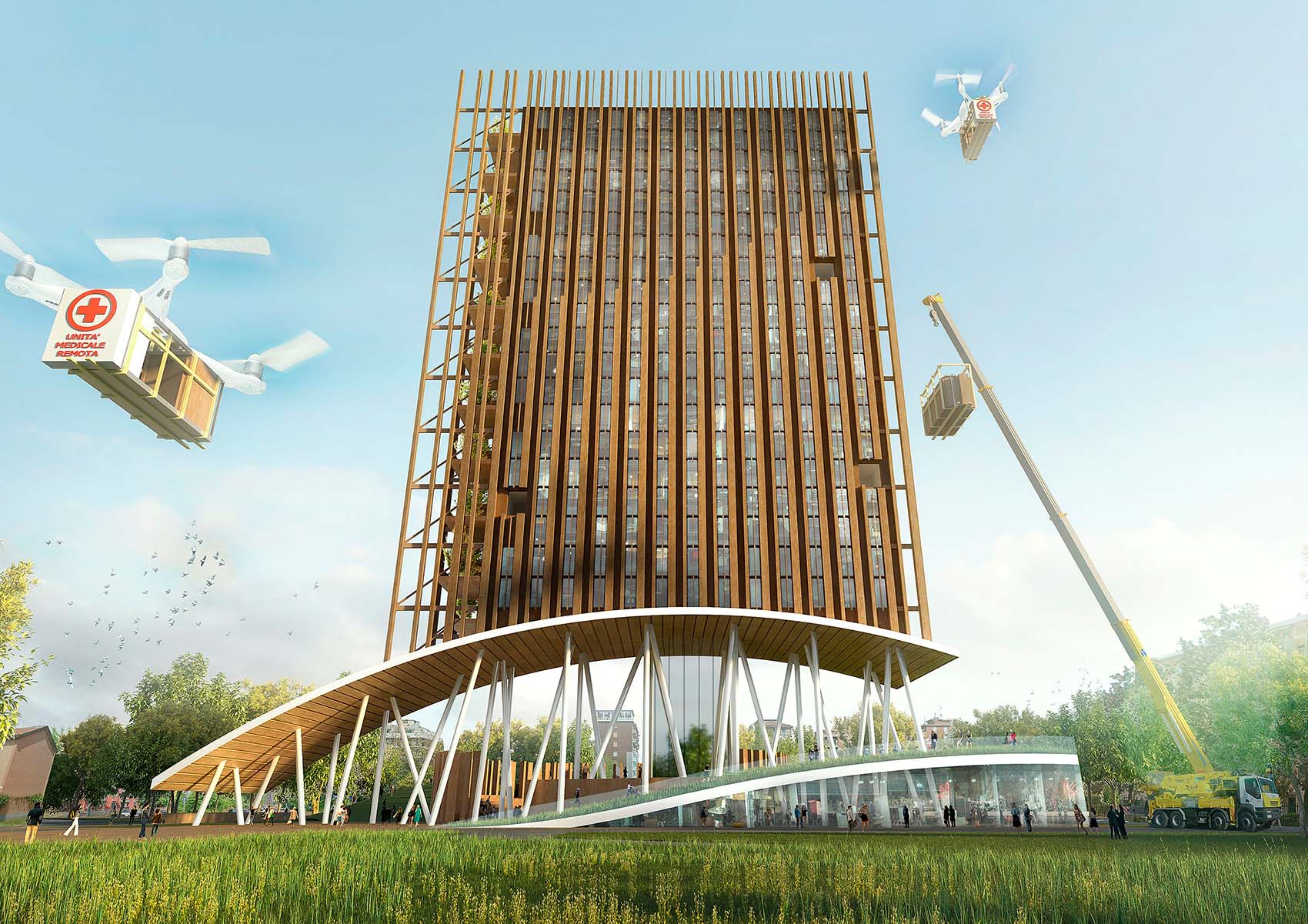 Proxima City: una piattaforma concettuale per nuovi modelli abitativi