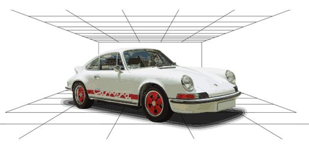 A pavilion for Porsche